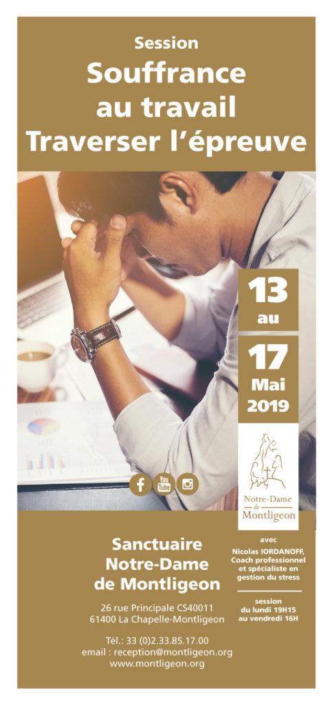 session souffrance au travail du 13 au 17 mai
