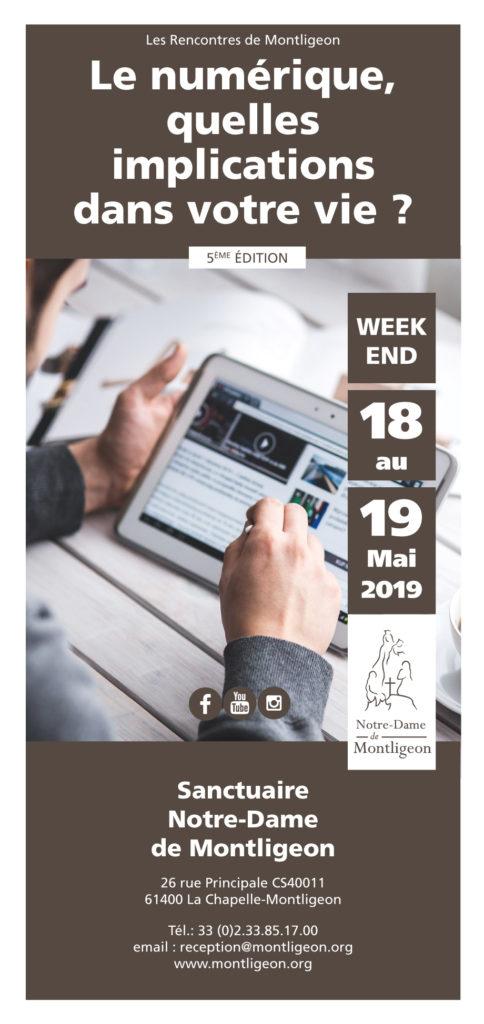 Les rencontres de Montligeon du  18 au  19 mai