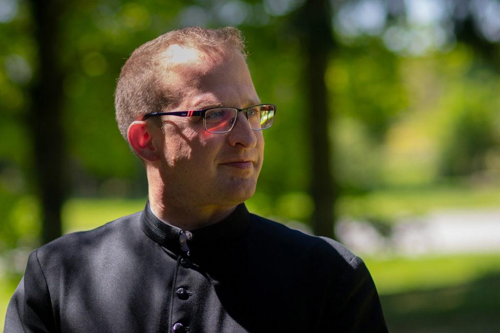 Don Paul Denizot, Recteur de Notre-Dame de Montligeon.