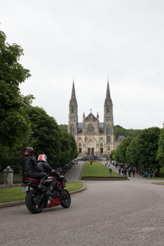 Bénédiction des motards à Montligeon