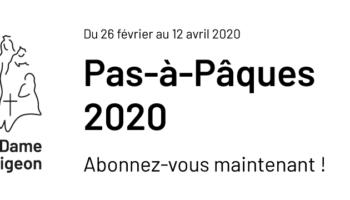 Pas-à-Pâques 2020