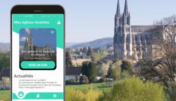 La quête sur smartphone à Notre-Dame de Montligeon