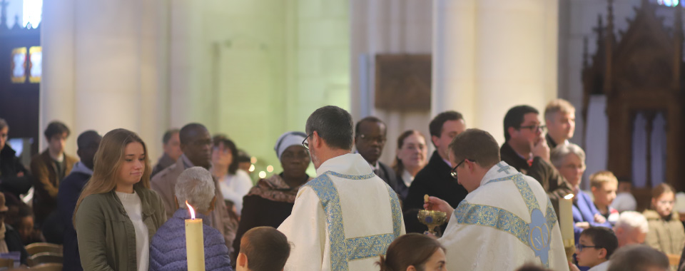 Come to communion at the shrine of Our Lady of Montligeon