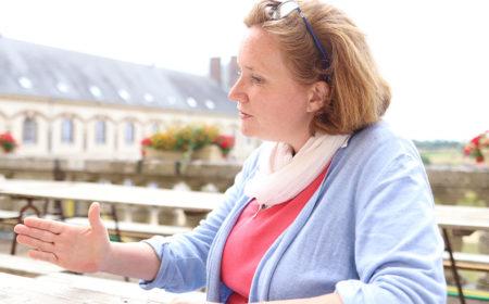 Marie - Session famille pour parents solos à Notre-Dame de Montligeon