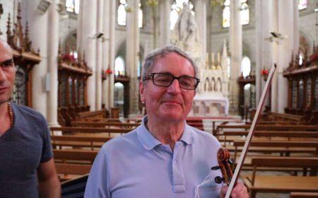 Thierry Samouélian et Yves Loiseleur violonistes