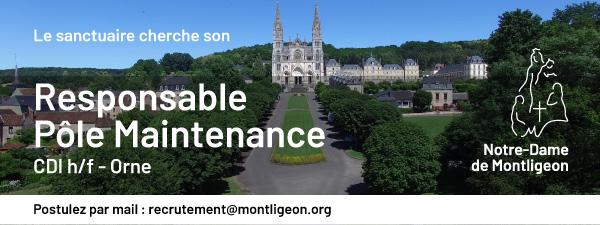OFFRE D'EMPLOI : Responsable Pôle Maintenance (CDI)