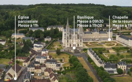 4 messes à Notre-Dame de Montligeon