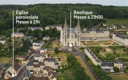 2 messes à Noël au sanctuaire de Montligeon