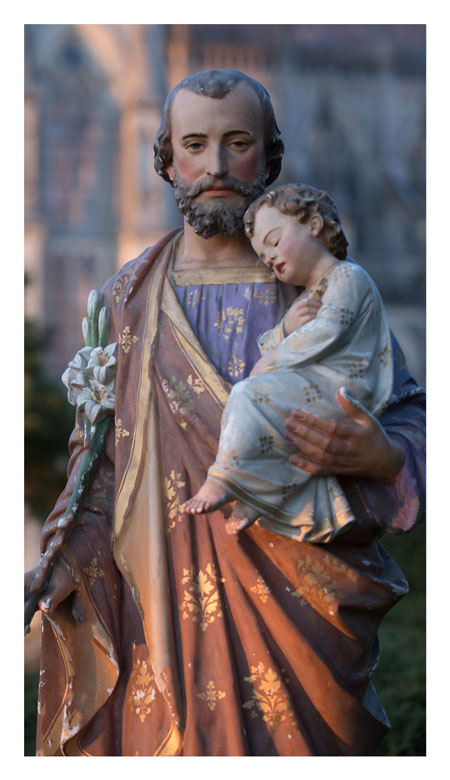 Carte prière à Saint Joseph de Montligeon