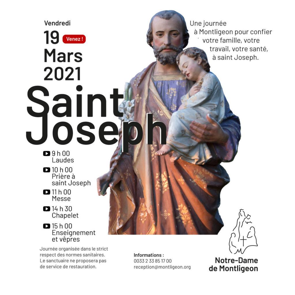 pèlerinage saint Joseph à Montligeon