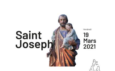 pèlerinage saint Joseph à Montligeon le 19 mars 2021