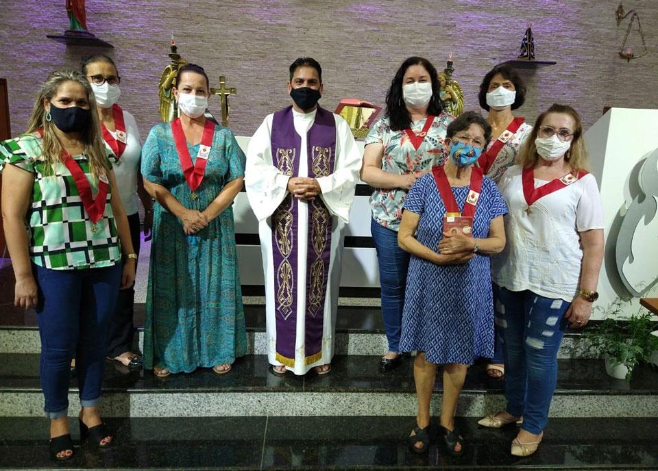 groupe de prière de la Fraternité Notre Dame de Montligeon au Brésil