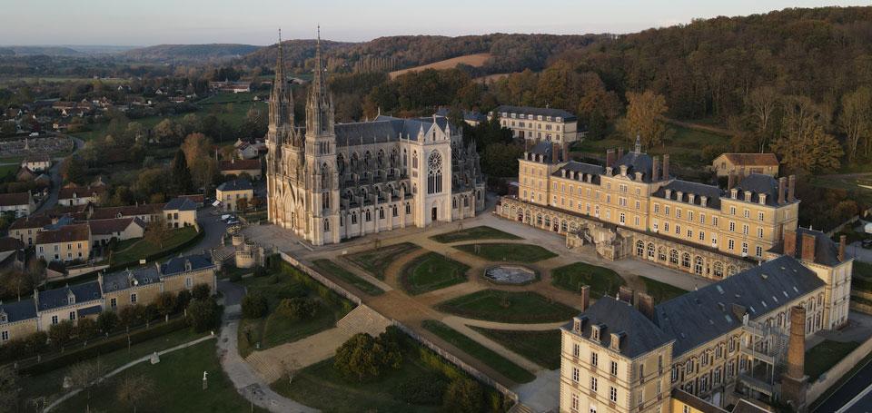 Basilique Notre-Dame de Montligeon-vue aérienne - DJI_0309-960