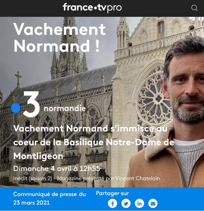 Vachement Normand ! Normandie Vachement Normand s'immisce au coeur de la Basilique Notre-Dame de Montligeon Dimanche 4 avril à 12h55