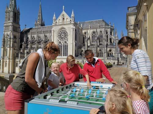 Session familles à Notre-Dame de Montligeon