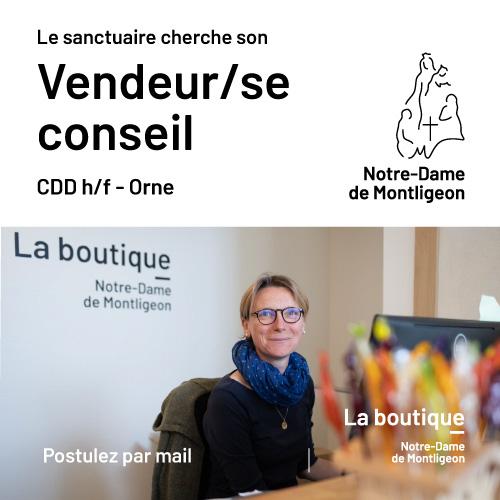 Recrutement Vendeur / se CDD