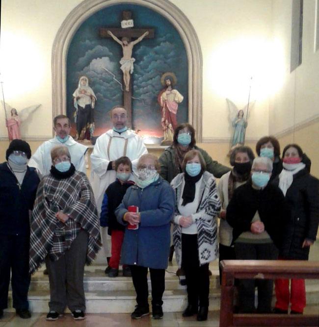 groupe de prière en Uruguay à PAN DE AZUCAR tous les dimanches à 9h00 à l'église Notre Dame des douleurs animé par le Père Jose Luis PONTE.